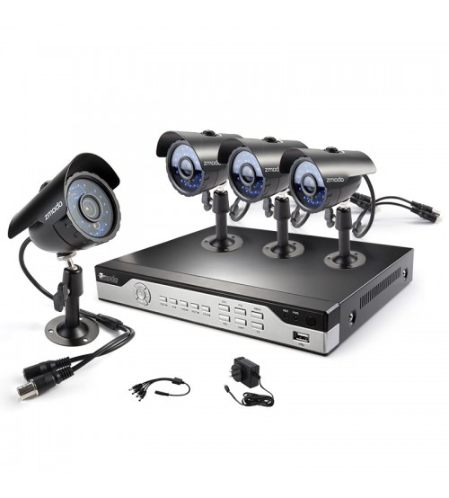 Zmodo 4 Channel Real-Time DVR Security System